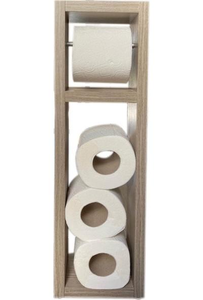 Bayz Ahşap Tuvalet Kağıtlığı Wc Tuvalet Standı