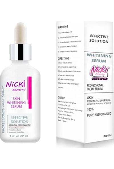 Nicki Beauty Aydınlatıcı Cilt Serumu