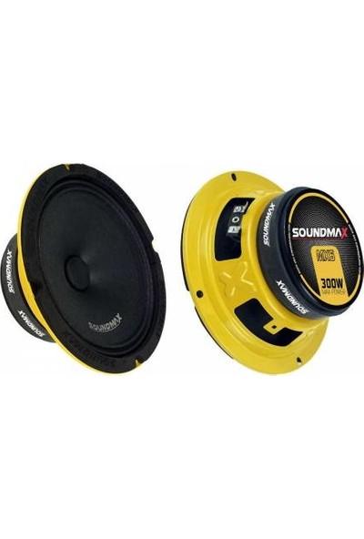 Soundmax SX-MX6--300W-100W Rms 16 cm 2 Adet