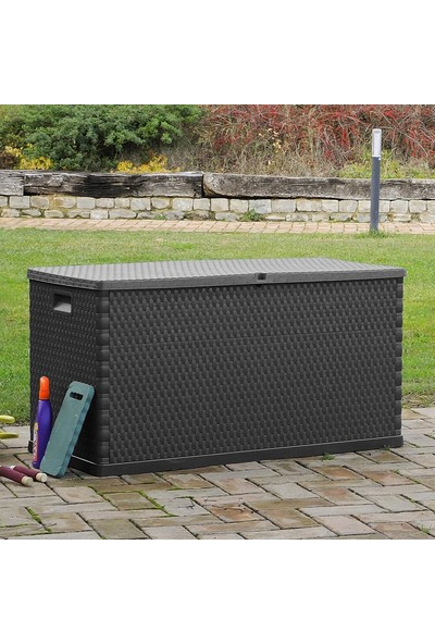 Toomax Antrasit Bahçe Depolama Sandığı 420 lt