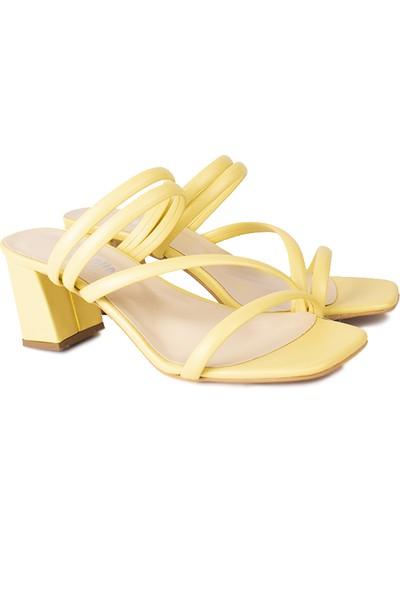 Loggalin 520054 125 Kadın Limon Sarı Terlik