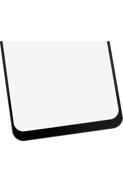Zümrah Oppo A5 2020 - OPPO A9 2020 Tam Kapatan 5D Nano Ekran Koruyucu Jelatin Siyah