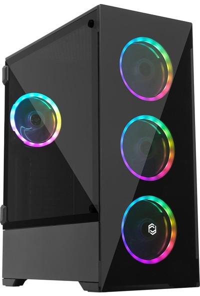 Frisby FC-9310G 650 W RGB Led Fanlı ATX Oyuncu Bilgisayar Kasası