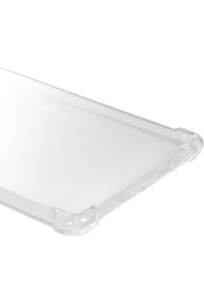 """Happyshop Samsung Galaxy Tab A 8.0"""" T290 Kılıf Ultra Korumalı Antishock Silikon Şeffaf"""