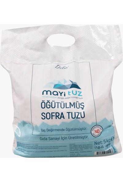 Mayi Tuz Öğütülmüş Sofra Tuzu 5 kg