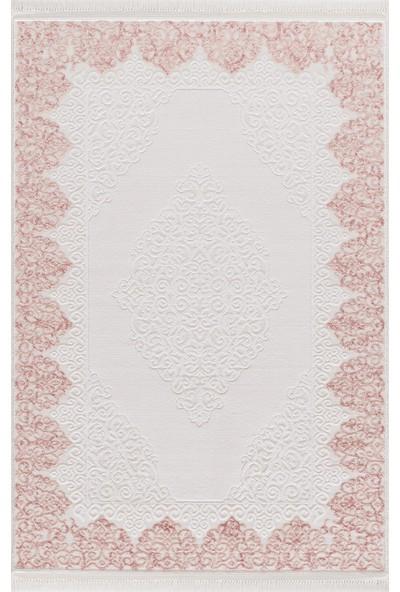 Enti Halı 4006 Avangard Pudra Salon Halısı - Dikdörtgen 100 x 200 cm
