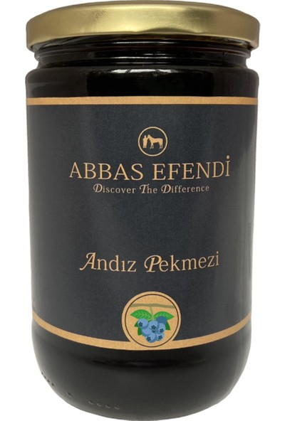 Abbas Efendi Saf Andız Pekmezi Cam Kavanoz 1250 gr