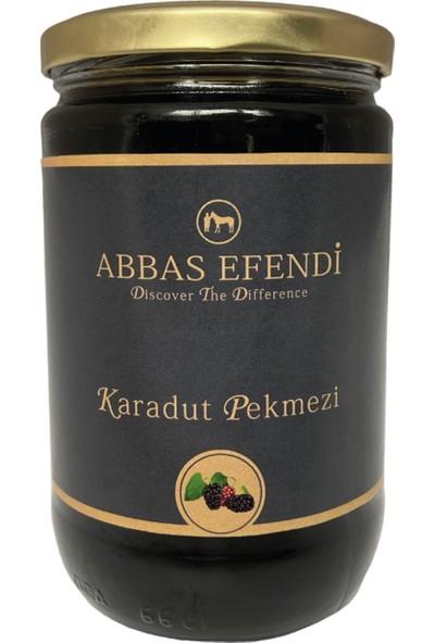 Abbas Efendi Saf Karadut Pekmezi Cam Kavanoz 1250 gr