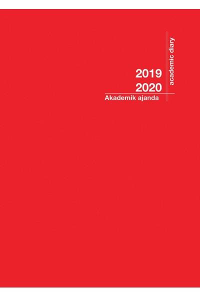 2020 - 2021 Akademik Ajanda 21x29cmKırmızı