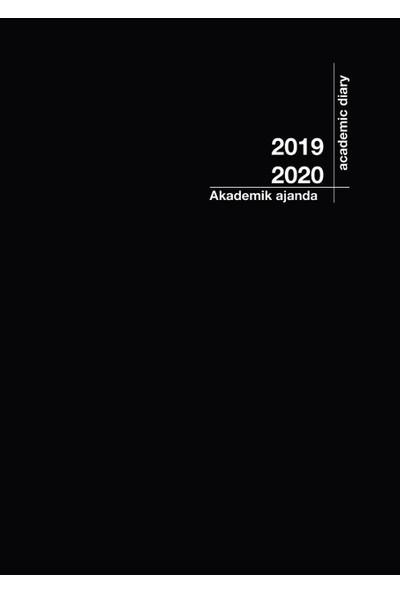2020 - 2021 Akademik Ajanda 21x29cmSiyah