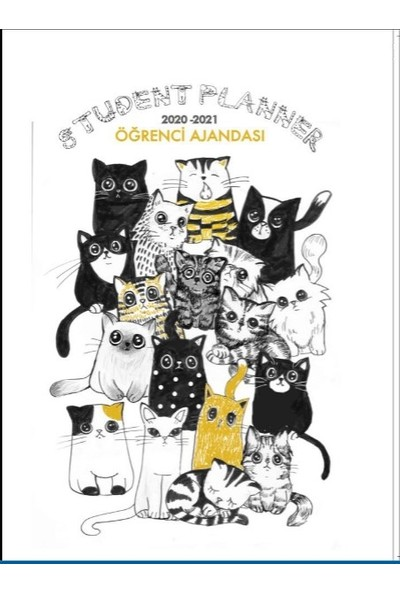 Öğrenci Ajandası 2020 - 2021 Street Cats