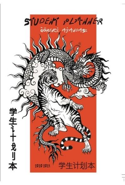 Öğrenci Ajandası 2020 - 2021 Tiger& Dragon