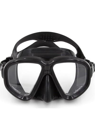 Buyfun Dalış Maskesi Gözlük Yüzme Dalış Şnorkel Cam Ekipmanı