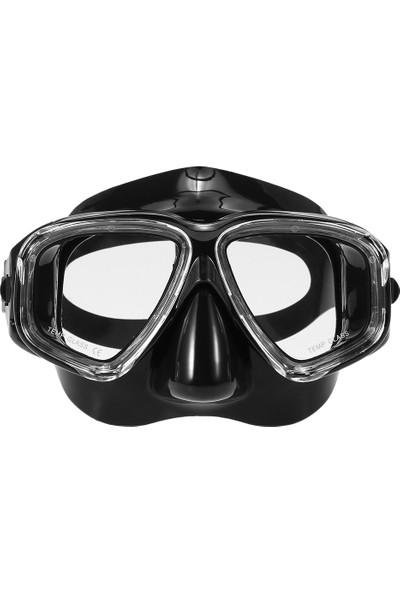 Lixada Yetişkin Serbest Dalış Maskesi Anti-Sis Dalış