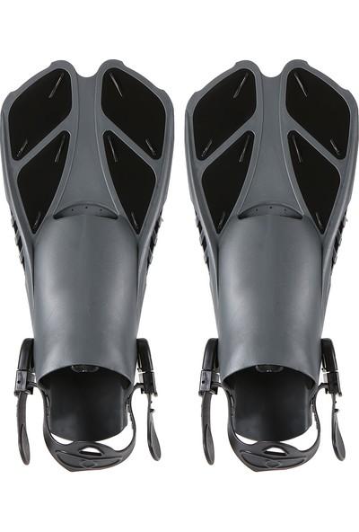Lixada Dalış Seti ile Silikon Maske Yüzme Yüzgeçleri