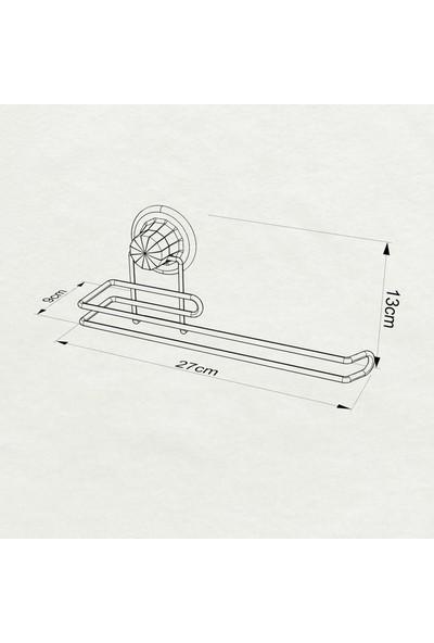 Tekno-tel Vakumlu Kağıt Havluluk Mat Siyah DM272