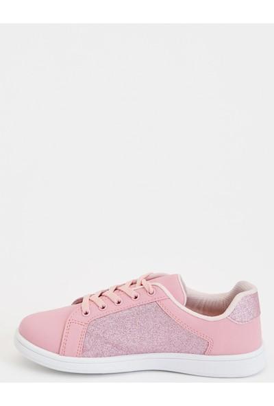 Defacto Kız Çocuk Pul Detaylı Sneakers Ayakkabı