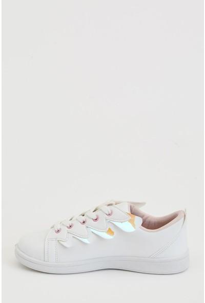 Defacto Kız Çocuk Bağcıklı Sneaker Ayakkabı