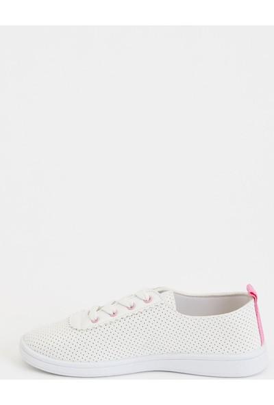 Defacto Kız Çocuk Bağcıklı Sneakers Ayakkabı