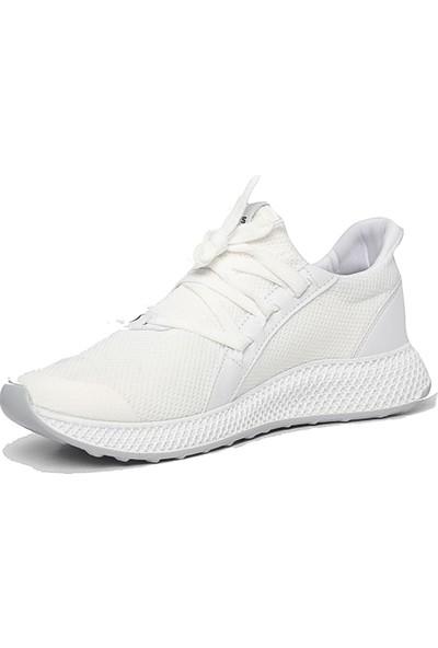 Axis Beyaz Erkek Günlük Spor Ayakkabı