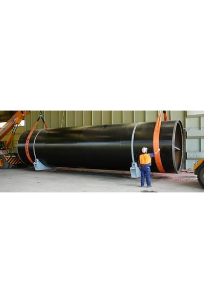 Halatsan Çeki Halatı (Çekme Halatı) 10 Ton 4 m - Gözlü Sapan