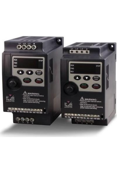 Yılmaz 2.2 Kw 1-Faz 230V Monofaze NL1000-02R2G2-Y YB1000 - Temel Seri Ac Hız Kontrol Motor Sürücüsü Driver