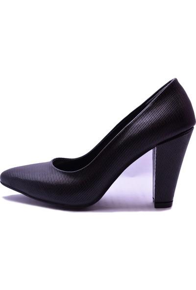 Ayakkabı Burada 0111 Kadın Topuklu Ayakkabı
