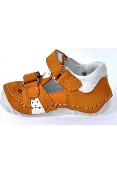 Teo Bebe 103 Deri Erkek Çocuk İlk Adım Ayakkabı