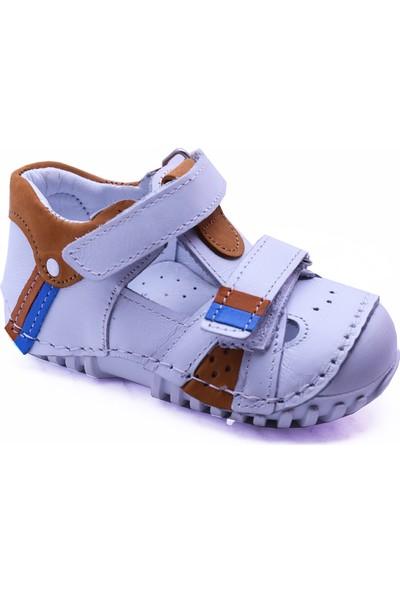 Teo Bebe 104 Deri Erkek Çocuk İlk Adım Ayakkabı