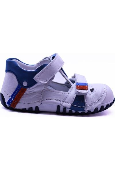 Teo Bebe 106 Deri Erkek Çocuk İlk Adım Ayakkabı