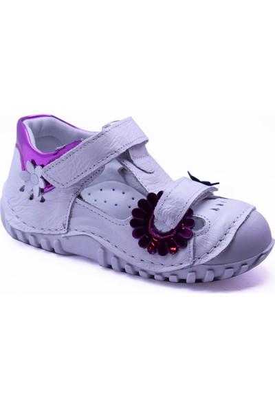 Teo Bebe 110 Deri Kız Çocuk İlk Adım Ayakkabı