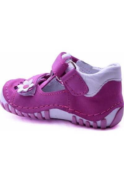 Teo Bebe 111 Deri Kız Çocuk İlk Adım Ayakkabı