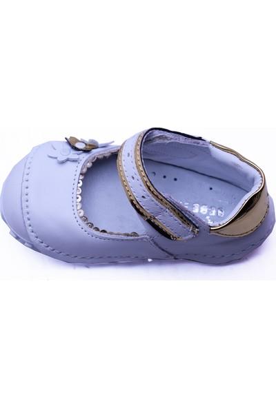 Teo Bebe 112 Deri Kız Çocuk İlk Adım Ayakkabı