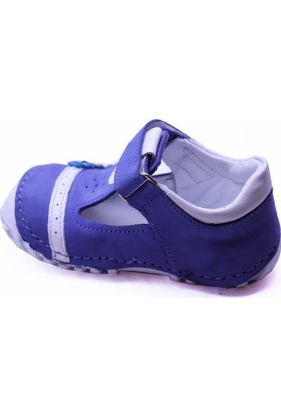 Teo Bebe 115 Deri Kız Çocuk İlk Adım Ayakkabı