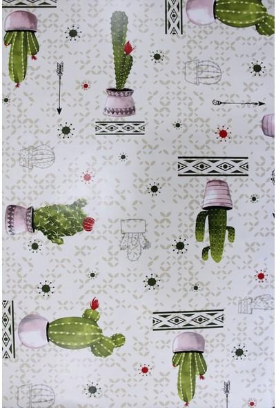 Dede Astarlı Silinebilir Pvc Leke Tutmaz Muşamba Masa Örtüsü 130 x 160 cm