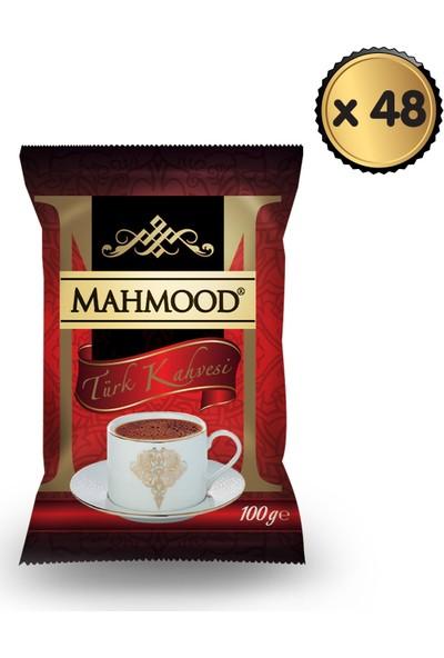 Mahmood Coffee Mahmood Türk Kahvesi 100 gr x 48 Paket -1 Koli