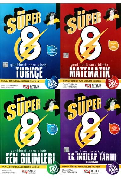 Nitelik Yayınları 8 Süper Set 4'lü
