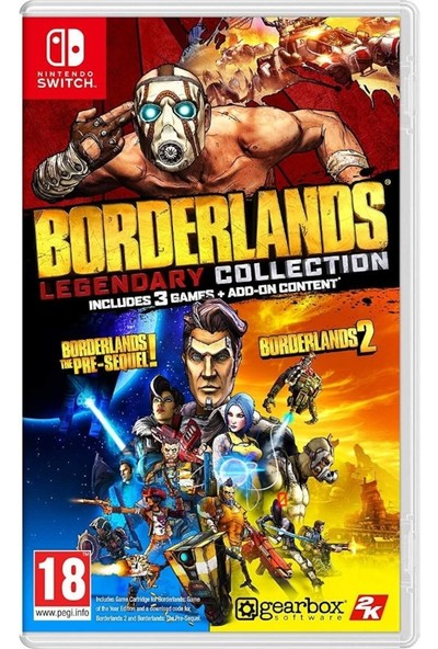 Borderlands Legendary Collection Nintendo Switch Oyun