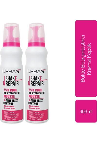 Urban Care Shake N Repaır 7/24 Curl Mılk 150 Ml& Shake N Repaır 7/24 Curl Mılk 150 ml