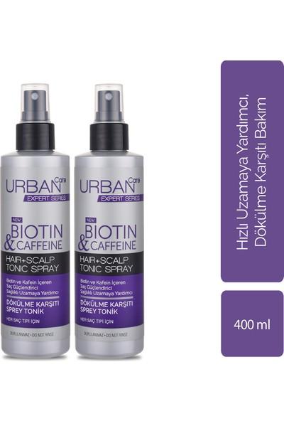Urban Care Biotin ve Kafein Içeren Saç Kökü Güçlendirici Hızlı Uzamaya Yardımcı Tonik 200 ml x 2