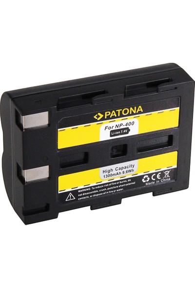 Patona Minolta NP-400 Dimage A1 Dimage A2 Dynax 5d Dynax 7d İçin NP-400 Batarya