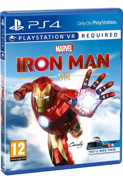 Marvel's Iron Man VR PS4 Oyun