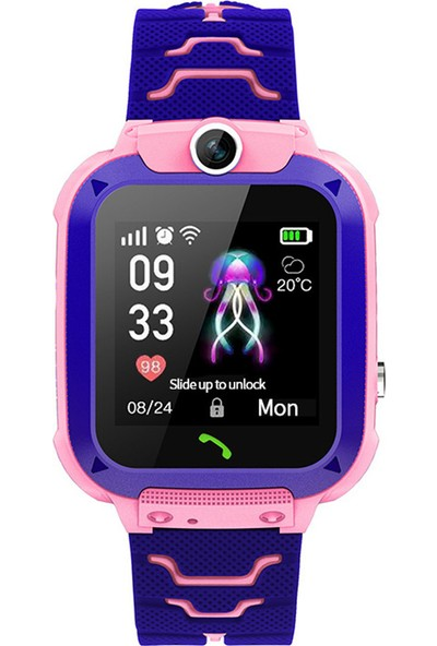 """Yukka Ruixin Akıllı Saat Lbs Çocuk Saati Bebek 1.44"""" Ekran Sesli Sohbet Lokasyon Bulucu (Yurt Dışından)"""