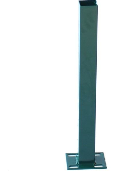 Batı Tel Örgü Panel Çit Kapı Yeşil Sağ Dış 100 x 100 cm