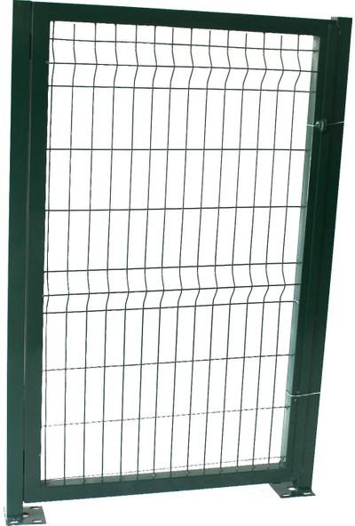 Batı Tel Örgü Panel Çit Kapı Yeşil Sağ Dış 150 x 100 cm