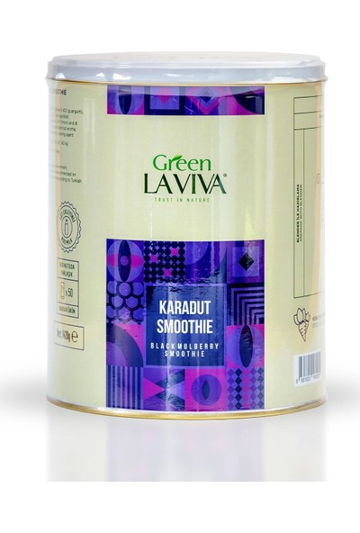 Green Laviva Karadut Smoothie Blackmurberry Smoothie 1420 gr