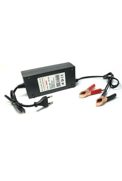 Powermaster 12V 5A Akü Şarj Cihazı