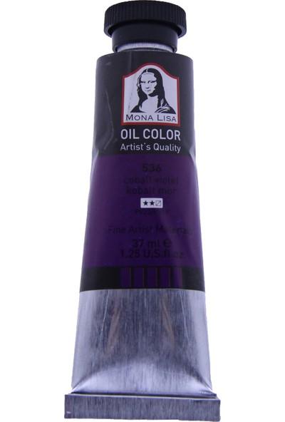Mona Lisa 536 Yağlı Boya 37 ml Kobalt Mor