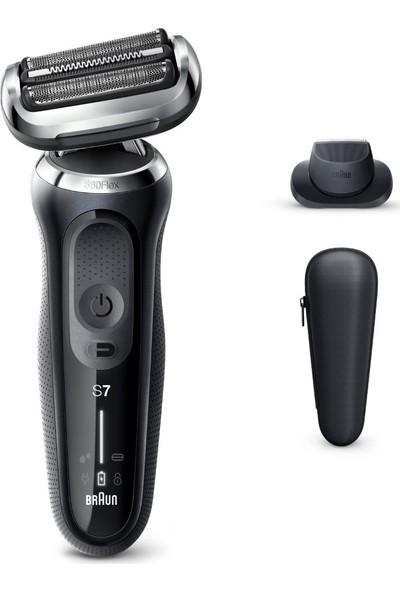 Braun Seri 7 N1200s Kablosuz Tıraş Makinası - AutoSence - 360° Flex - EasyClick Islak & Kuru