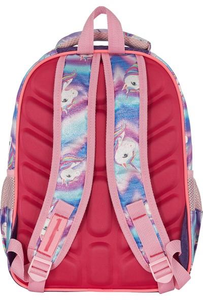 Fudela Love Unicorn Okul Takım Çantası